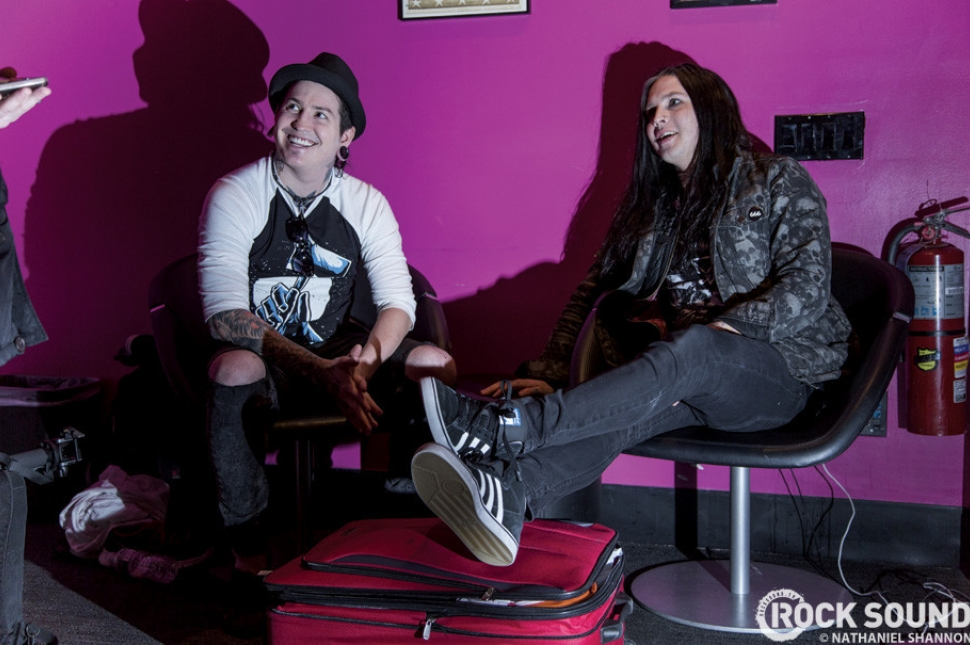 Live And Loud: Behind The Scenes With Falling In Reverse & Escape The Fate In NYC