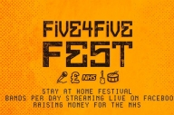The Full Line-Up For Five4Five, A New Online Festival, Has Been Announced