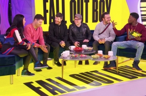 Watch Fall Out Boy Talk Stranger Things And How They Met BTS' RM On MTV's TRL