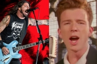 Foo Fighters And Rick Astley Performing 'Never Gonna Give You Up' Together Is Everything