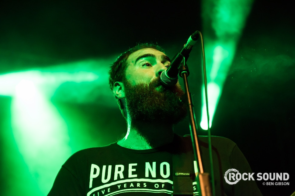 Four Year Strong, Slam Dunk South, May 31 2016 // Photo credit: Ben Gibson