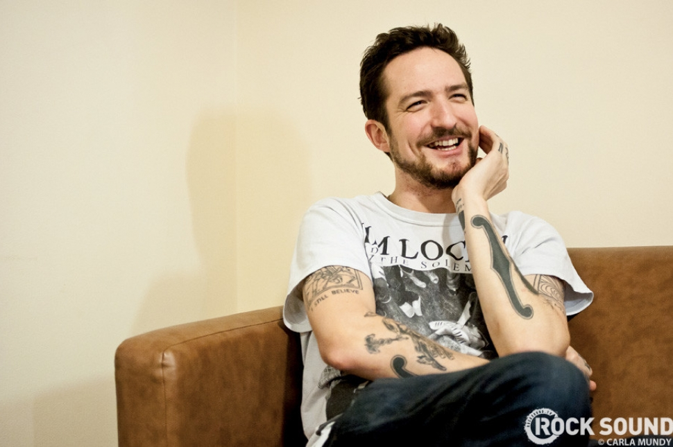 Up north, our Carla Mundy spent some time with Frank Turner ahead of his Nottingham Capital FM Arena show...