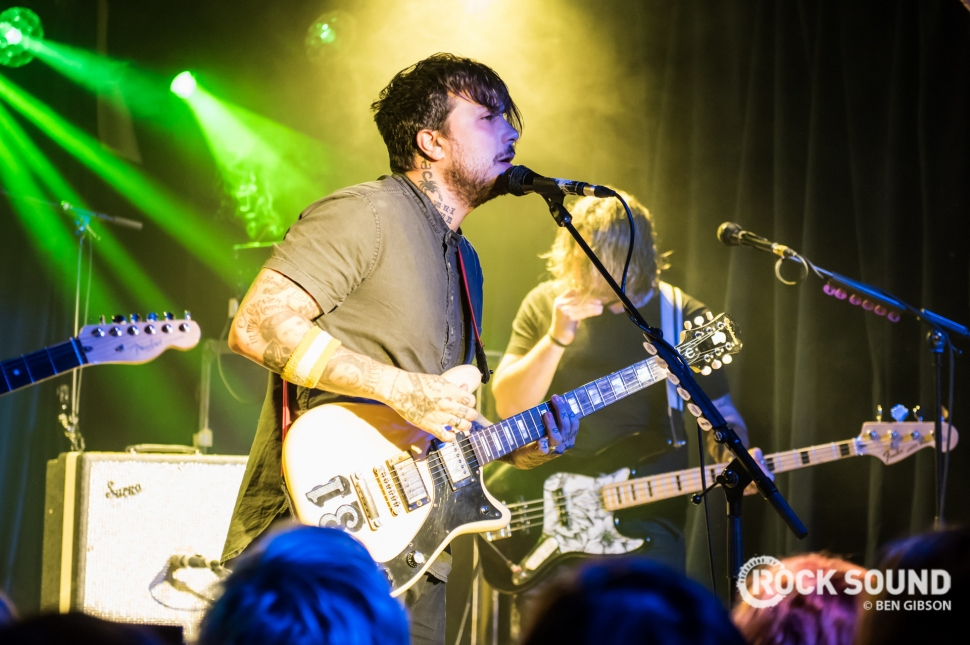 Frank Iero & The Patience, London Omeara, October 21 // Photo: Ben Gibson