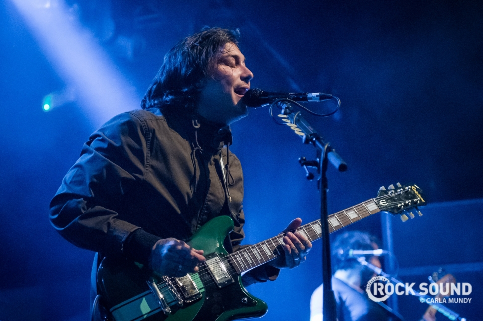 Frank Iero And The Patience, Nottingham Rock City, February 17 // Photo: Carla Mundy
