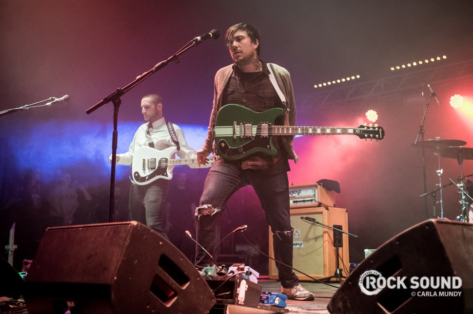 Frank Iero Andthe Cellabration, Reading Festival, August 30 // Photo credit: Carla Mundy