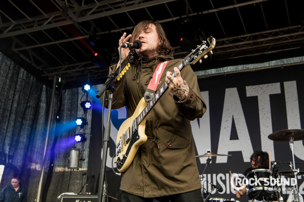 Frank Iero And The Patience, Slam Dunk North 2017, May 28 // Photo: Carla Mundy