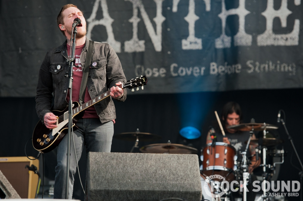 Download Festival 2013 Photos: The Gaslight Anthem