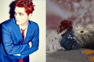 This Is How Gerard Way's 'Getting Down The Germs' Video Was Made