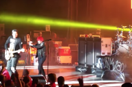 Remembering The Time That Gerard Way Filled In For Tom DeLonge During A Blink-182 Show