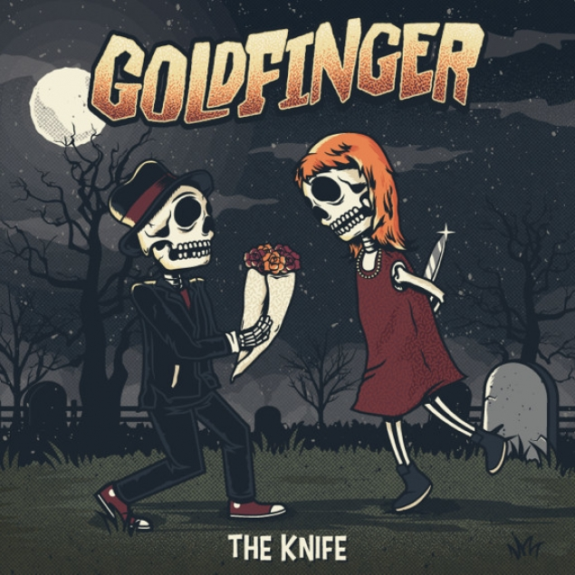 Goldfinger - 'The Knife' Cover