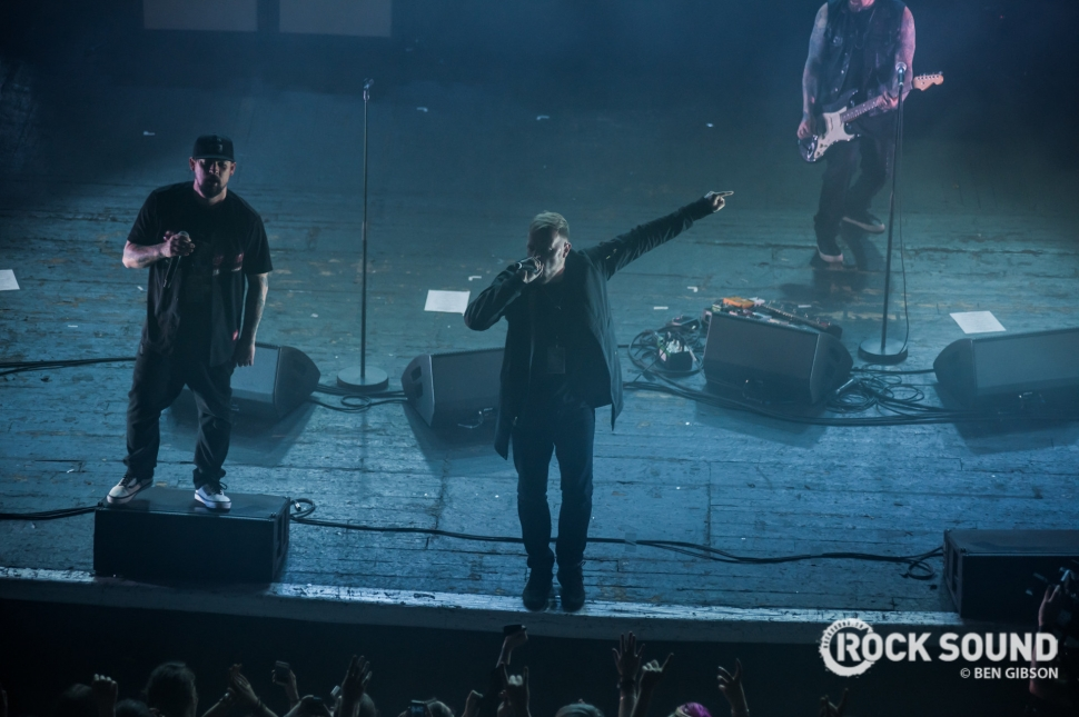 Good Charlotte, London Brixton Academy, December 03 // Photo: Ben Gibson