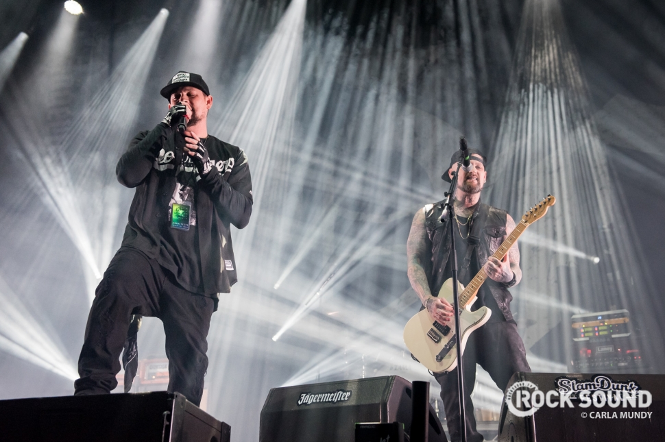 Good Charlotte, Slam Dunk North, May 26 // Photo: Carla Mundy