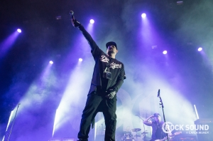 A Look At Good Charlotte's Explosive Slam Dunk Set