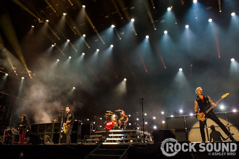Green Day's Dominant Headline Performance In Photos