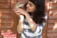 Band's Best Friend: Hannah Greenwood And Cookie The Hedgehog
