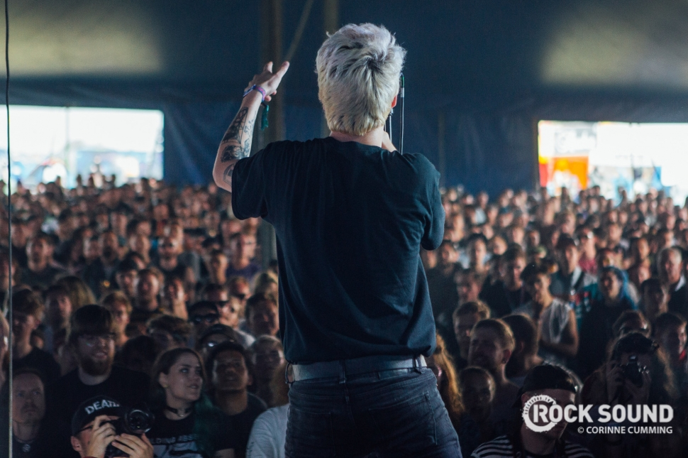 Holding Absence, 2000 Trees Festival, July 12 // Photo: Corinne Cumming