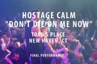 This Is The Last Ever Video Of Hostage Calm Performing Live You Will Ever See