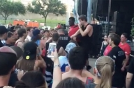 In Hearts Wake 'Disgusted' By Aggressive Security Guard At Warped Tour