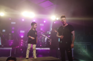 Watch Jacob Shaddix' Five Year Old Son Join Papa Roach On Stage