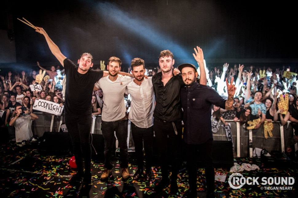 Kids In Glass Houses, Cardiff Great Hall // October 31, 2014