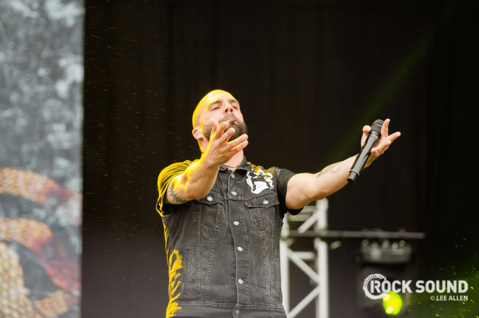 Killswitch Engage, Download Festival, June 10 2016 // Photo credit: Lee Allen