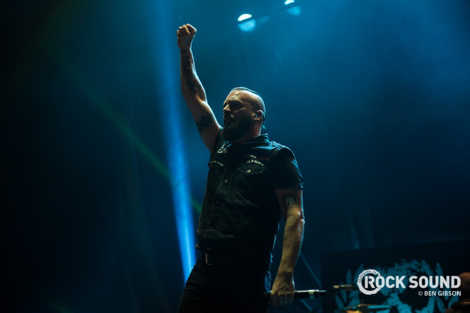 Killswitch Engage, London Brixton Academy, December 09 // Photo: Ben Gibson