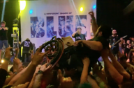 Watch The Crowd At A Knocked Loose Gig Crowdsurf A Fan In A Wheelchair To The Stage