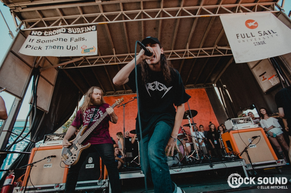 Knocked Loose, Vans Warped Tour 2017 // Photo: Ellie Mitchell