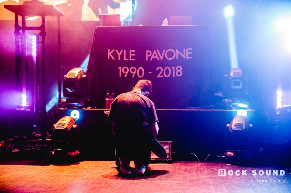 Kyle Pavone Promise Me Tribute Show, Fillmore, Detroit MI, October 28 // Photo: Jenn Curtis