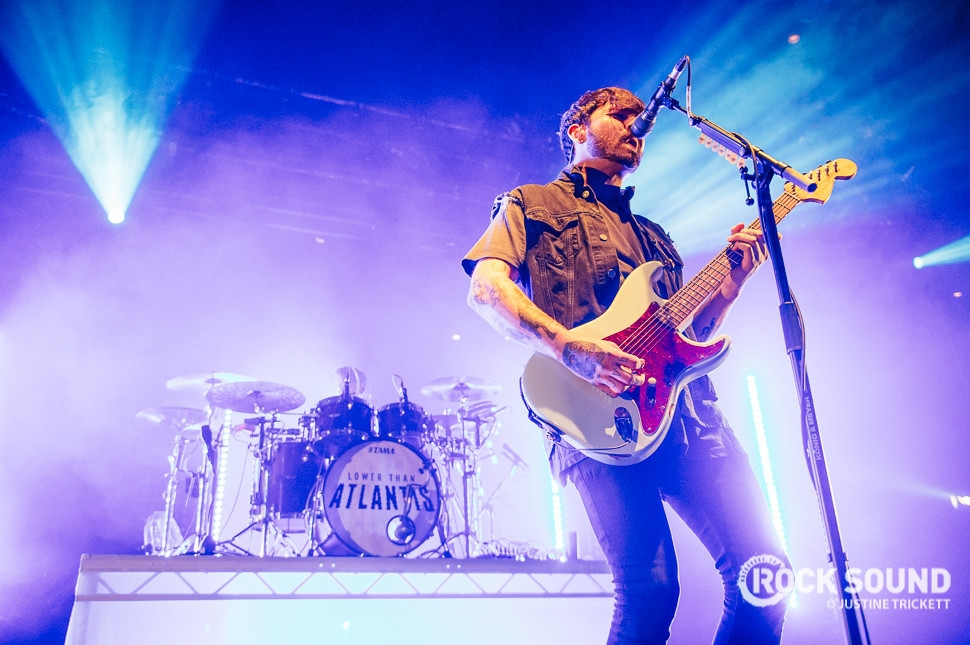 Lower Than Atlantis, London Roundhouse, December 15 // Photo credit: Justine Trickett