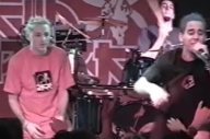 WATCH: Linkin Park Play 'Runaway' and 'With You' At A Gig Way Back In 2001