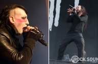 Korn's Jonathan Davis And Marilyn Manson Are Working On Something Together