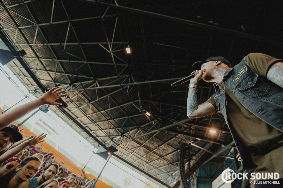 Memphis May Fire, Vans Warped Tour 2017 // Photo: Ellie Mitchell