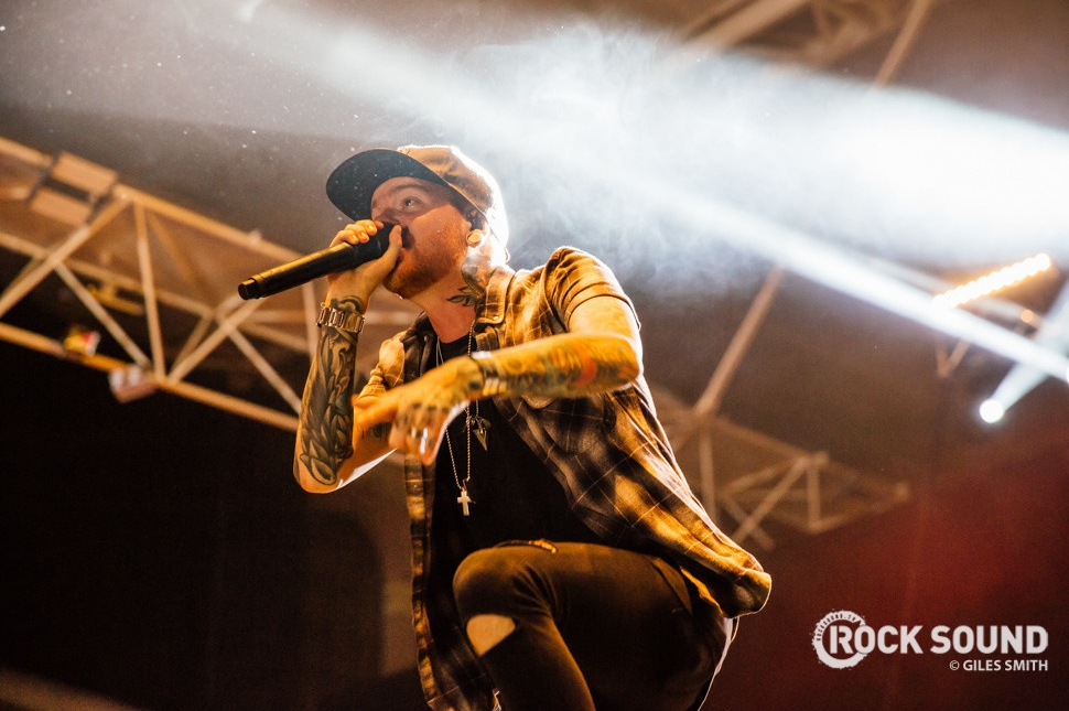 Memphis May Fire, Vans Warped Tour UK, October 18 // Photo credit: Giles Smith
