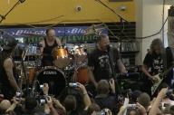 Metallica Played A Tiny Show For Record Store Day