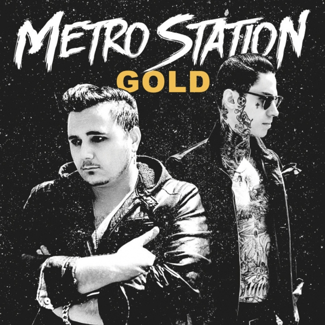 Metro Station - Gold Cover