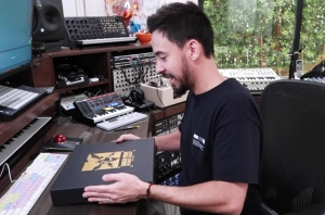 WATCH: Linkin Park's Mike Shinoda Upbox His 'Hybrid Theory' 20th Anniversary Deluxe Boxset