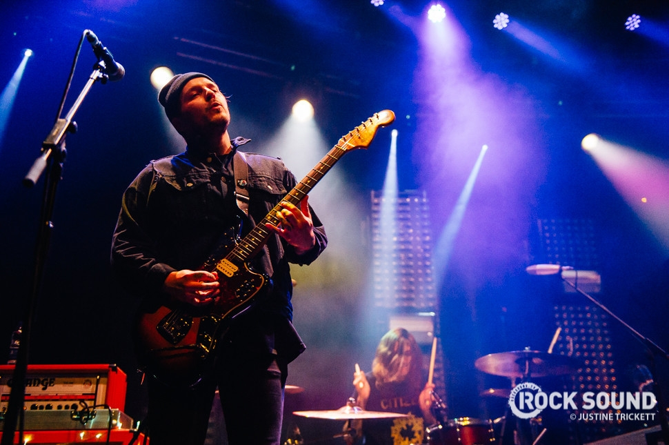 Moose Blood, London Roundhouse, December 15 // Photo credit: Justine Trickett