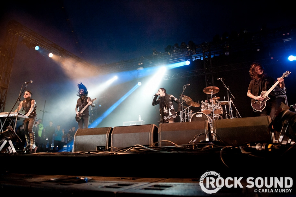 Download Festival 2013 Photos: Motionless In White