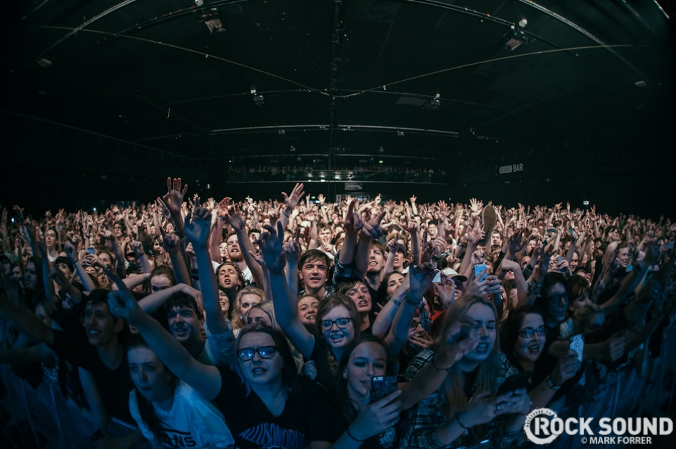 Neck Deep, Manchester Academy, February 04 // Photo credit: Mark Forrer
