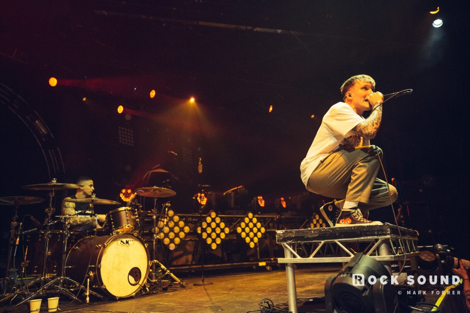 Neck Deep, O2 Victoria Warehouse Manchester, February 02 // Photo: Mark Forrer