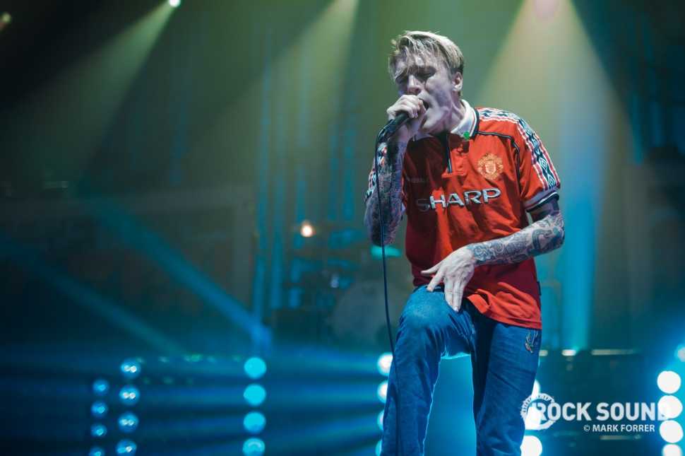 Neck Deep, Manchester Apollo, October 14 // Photo credit: Mark Forrer