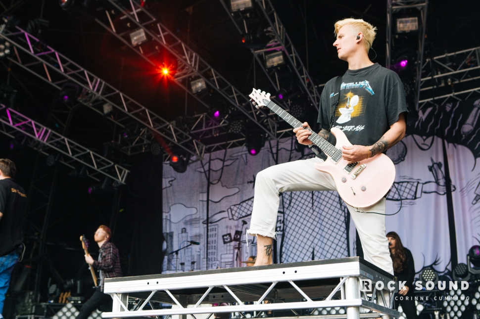 Neck Deep, Slam Dunk South, May 26 // Photo: Corinne Cumming