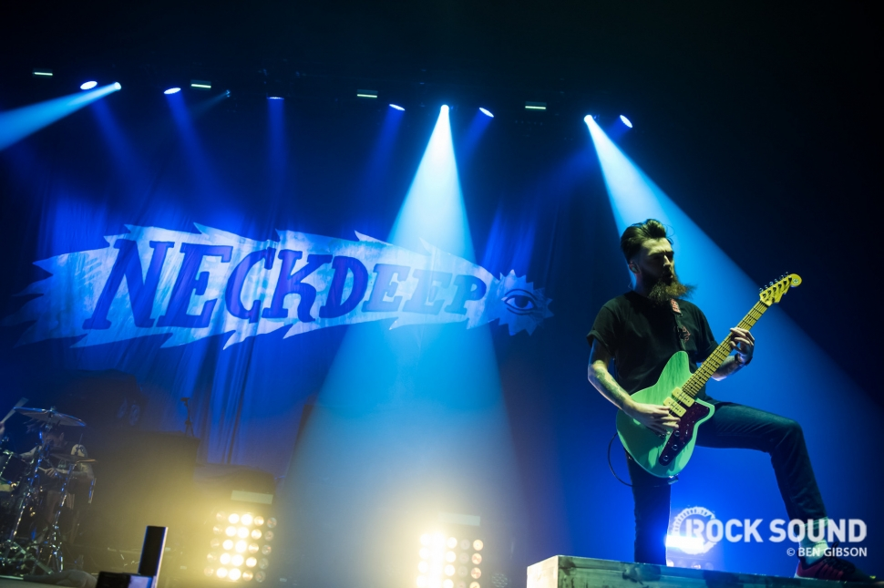 Neck Deep, London Wembley Arena, January 27 // Photo: Ben Gibson
