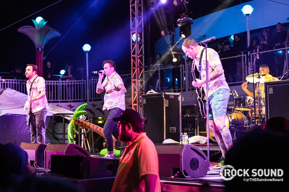 New Found Glory, Parahoy!, March 2016 // Photo credit: Adam James Reiter / THERainbowBeard