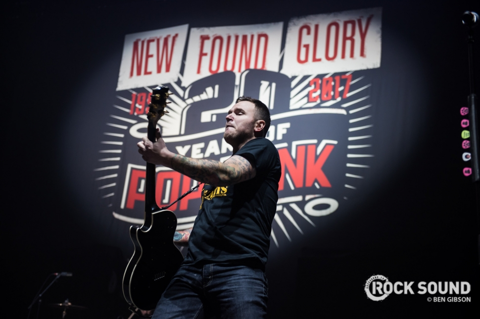 New Found Glory, London Wembley Arena, January 27 // Photo: Ben Gibson