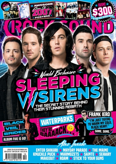 Rocksound - Issue 231 - October 2017