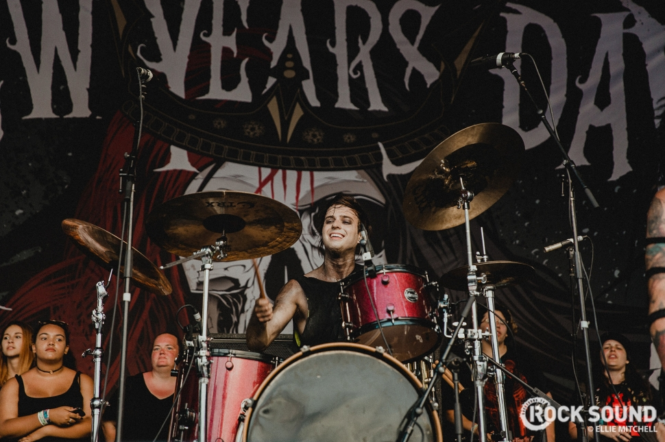 New Years Day, Vans Warped Tour 2017 // Photo: Ellie Mitchell
