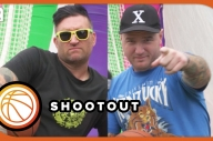 New Found Glory's Jordan & Chad Play Basketball - Festival Funfair