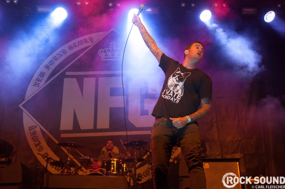 New Found Glory were there, too. Showing everyone that pop-punk's alive and kicking.